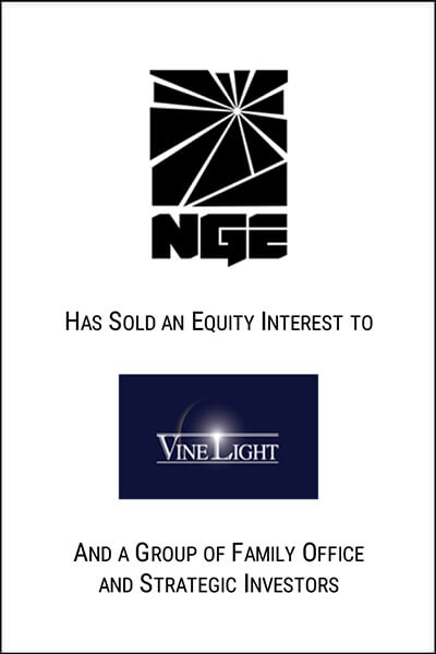 nge acquistion by vinelight investment
