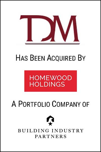 tdm investment banking acquisition homewood holdings